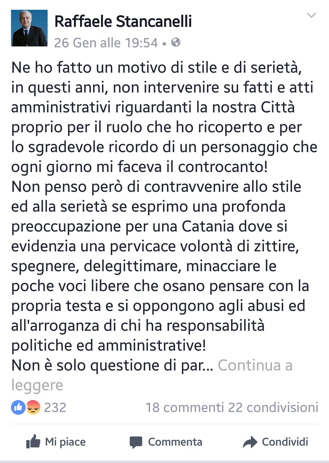 Post Stancanelli