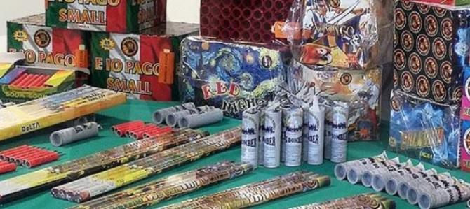 Messina: confiscati oltre duemila artifizi pirotecnici