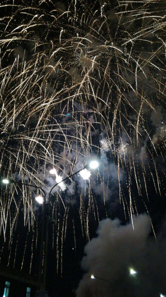 """Sant'Agata, si accende la festa: le FOTO dei fuochi d'artificio d'""""a sira 'o tri"""""""