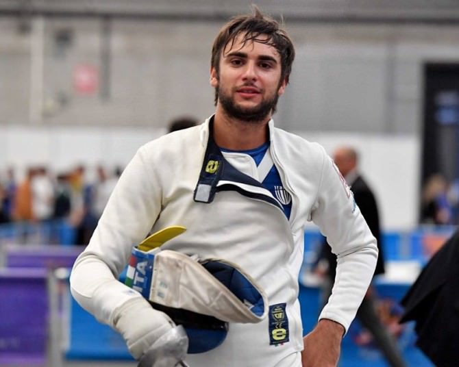 Enrico Garozzo sorride
