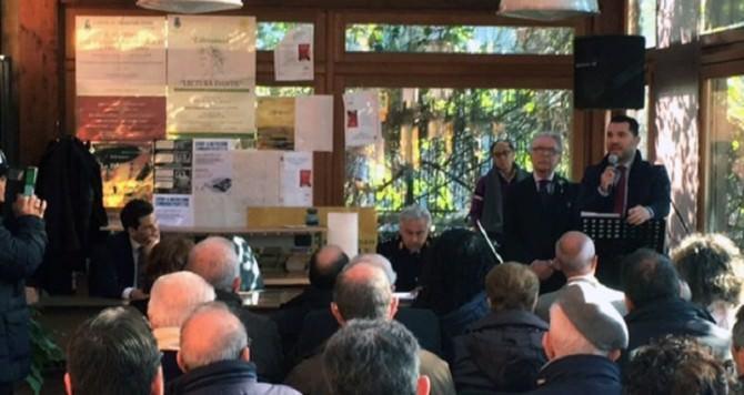 Il sindaco Santi Rando incontra i cittadini di Canalicchio
