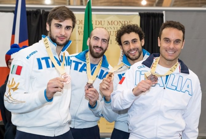 Peter Bakonyi Men's Epee World Cup - Vancouver, Canada - Day 3 - Team Competition - February 19th 2017