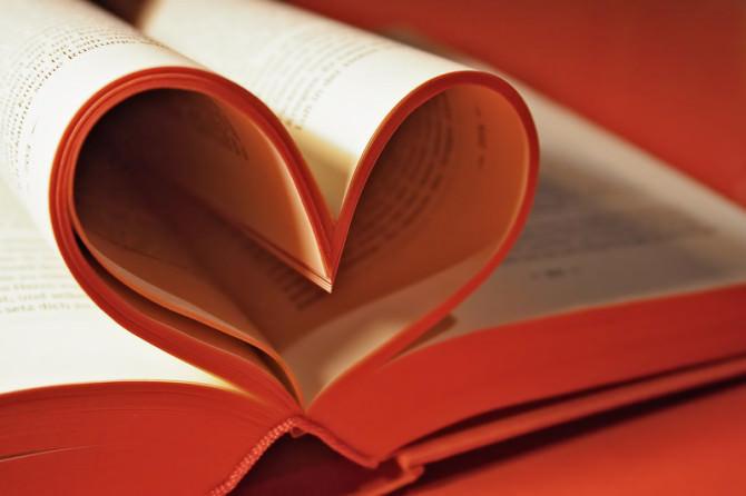 San Valentino libro cuore