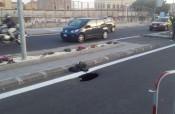 Catania, profondo buco vicino stazione metropolitana in viale Africa