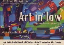 """Art in Law: """"la dimostrazione di come l'arte contemporanea possa interagire con il proprio ambiente e la società"""""""