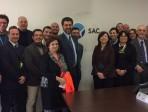"""Gli allievi del primo master in """"Sicurezza Aeroportuale"""" dell'Università di Catania in visita a Fontanarossa"""