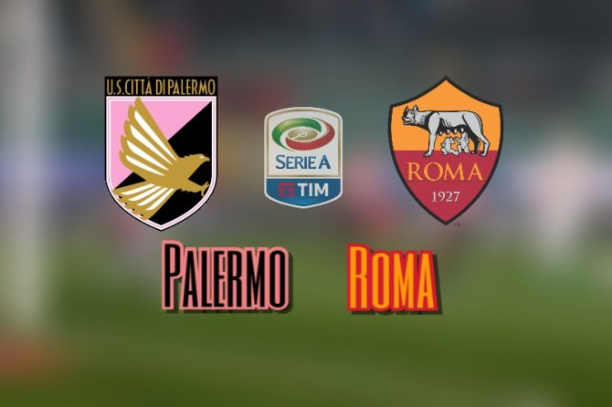 Soccer: Serie A; Palermo-Roma