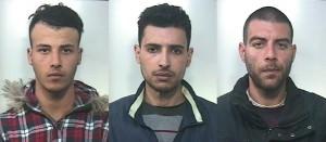 3 arrestati