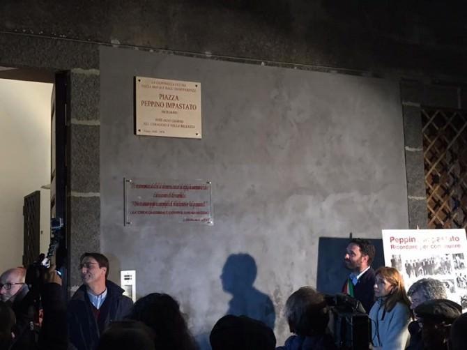 Acireale dedica una piazza a Peppino Impastato