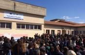 """Pedara, il flash mob alla """"Casella"""" contro la violenza: presente il preside Rizza"""