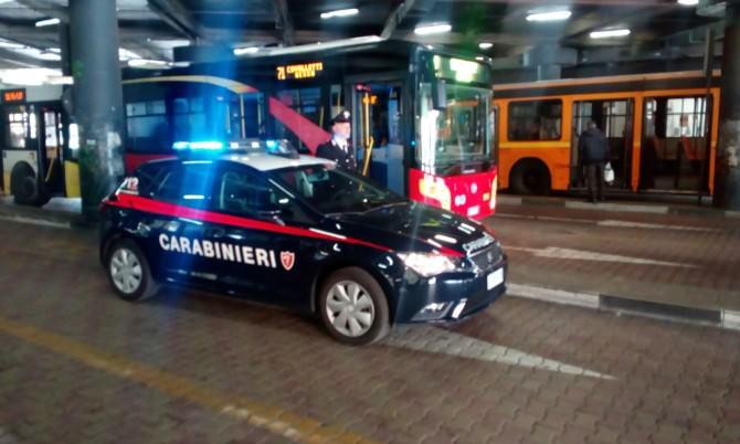 Attimi di paura sul bus ATM: denunciati 7 giovani messinesi
