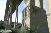 Strade siciliane al collasso: le condizioni pietose del viadotto Morandi. FOTO e VIDEO