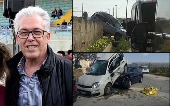 Scontro tra due auto vicino Marsala, bancario muore sul colpo