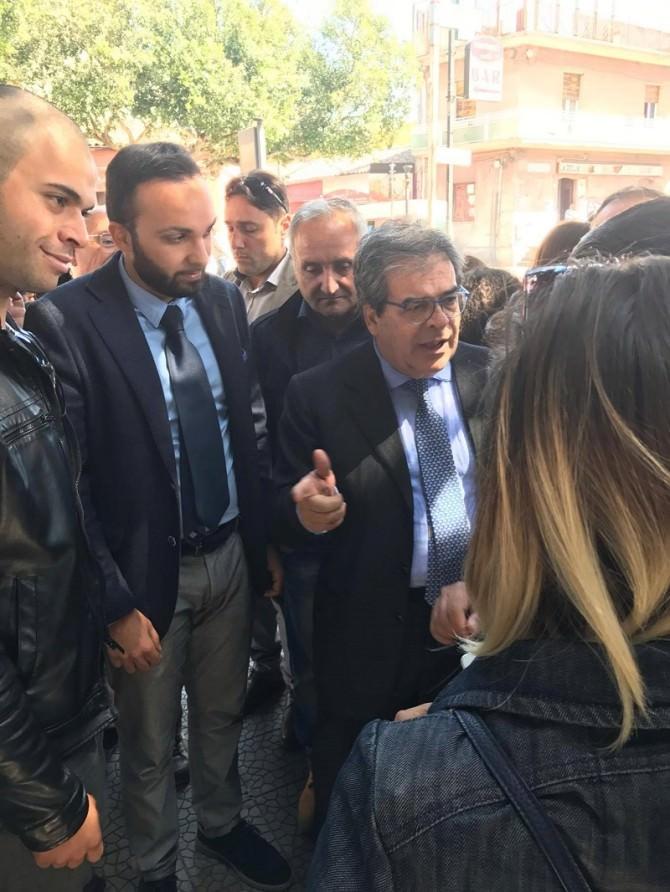"""Panchina rossa a San Giovanni Galermo. Consigliere Giacone: """"Presto una a Cibali"""""""