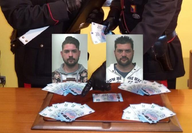 Fanno acquisti con banconote false, arrestati due fratelli