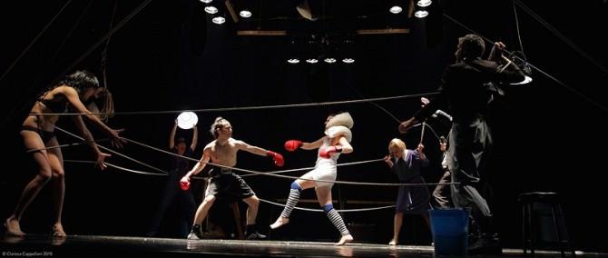 """Boxe al Teatro Biondo di Palermo: il """"ring"""" come palcoscenico nel nuovo spettacolo di Civilleri-Lo Sicco"""