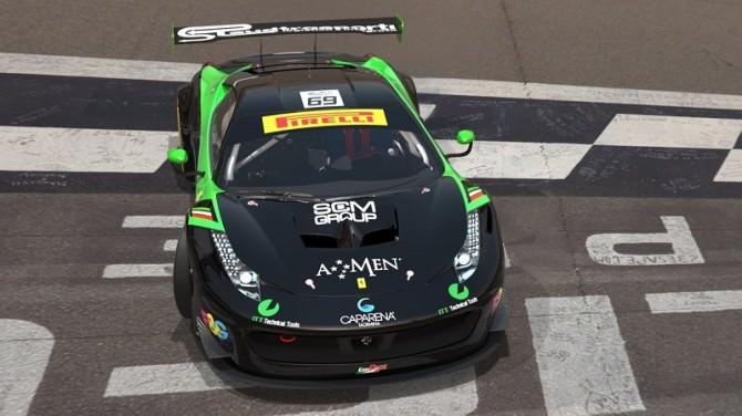 Due catanesi al Campionato italiano GT ad Imola. LE FOTO