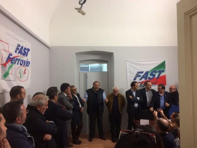 Inaugurata la nuova sede sindacale provinciale di Catania