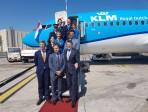 Primo atterraggio a Fontanarossa di un aereo KLM