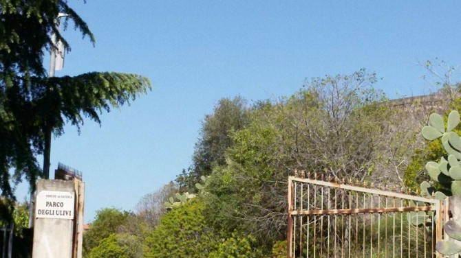 L'incuria del parco Degli Ulivi e i disagi del sistema viario a S.Nullo