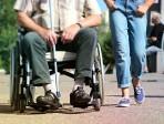 Sedia a rotelle sclerosi