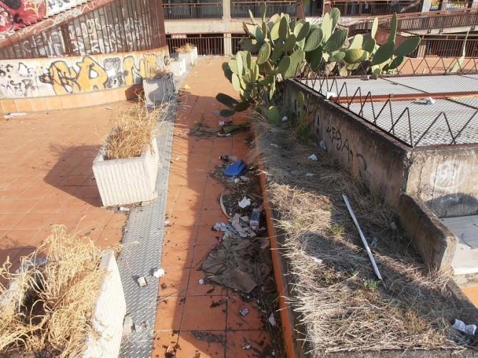 """Ex centro commerciale Vulcania nel degrado, Tomarchio: """"L'amministrazione continua a disinteressarsi"""""""