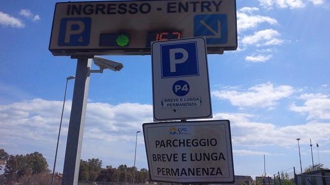 ingresso parcheggio P4