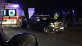 "Incidente al ""Faro"": auto distrutta e due feriti"