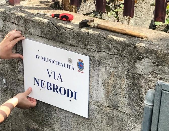 """San Giovanni Galermo, installati cartelli toponomastica. Giacone: """"I residenti hanno bisogno di risposte concrete"""""""