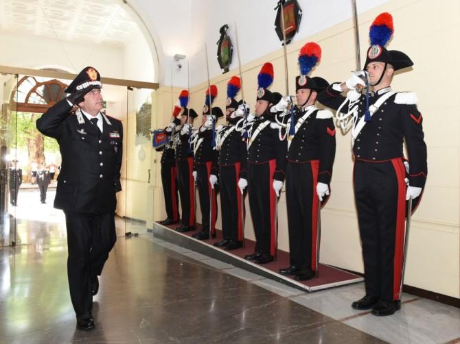 Ingresso Comando Legione Carabinieri Sicilia