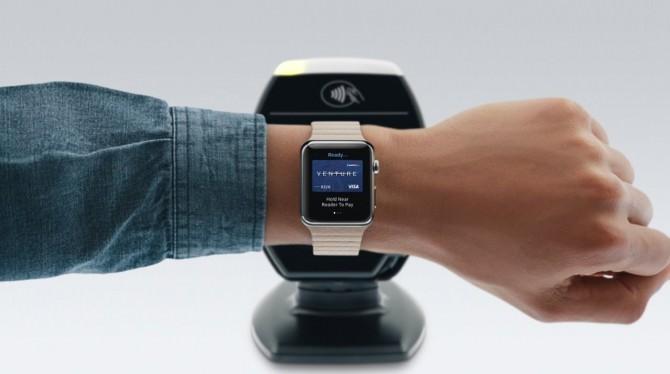 Pagamento con Apple Watch