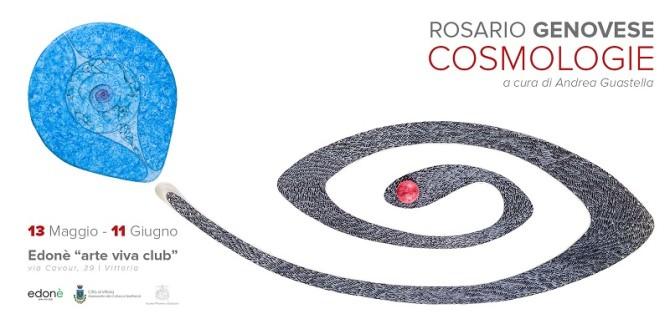 """""""Cosmologie"""", la mostra di Rosario Genovese a Vittoria"""