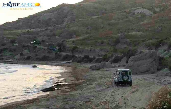 Fuoristradisti deturpano le spiagge agrigentine: MareAmico denuncia su facebook, arrivate le scuse