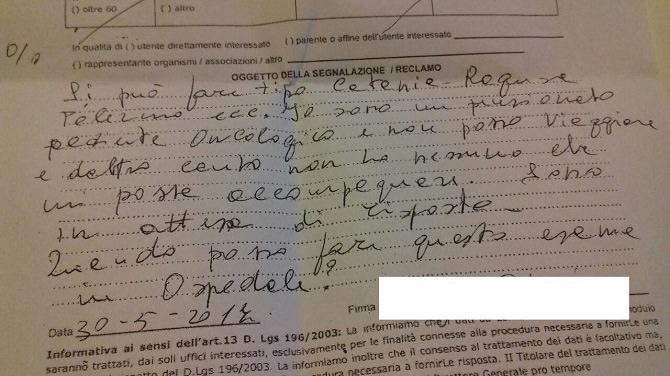 Disservizi nella Sanità: la lettera dei siracusani all'ASP 8