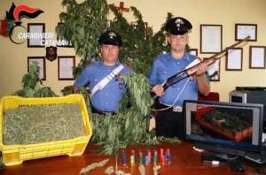 Droga e fucile Belpasso