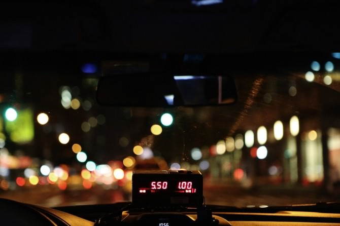 Taxi Tassista Tassametro