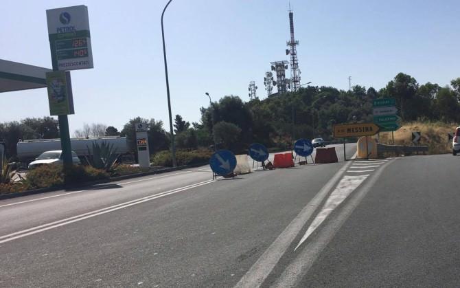 Uscita Paesi Etnei ingresso Autostrada