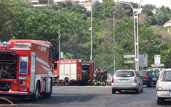incendio spento vigili fuoco circonvallazione (3)