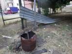 """Quartiere Picanello, piazza delle Universiadi distrutta dai vandali. """"Bisogna riqualificarla"""". LE FOTO"""