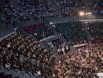 Università di Messina: consegna dei diplomi al Teatro Antico di Taormina