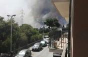 """Misterbianco brucia, attimi di panico e terrore: """"teniamoci stretti"""" [VIDEO E FOTO]"""