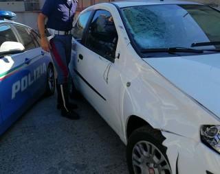 Foto Auto incidente braccio staccato milza spappolata Messina