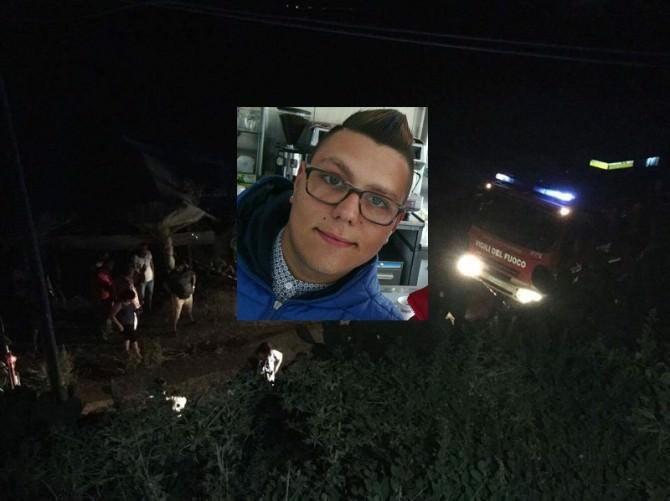 Finisce con l'auto fuori strada: ventenne perde la vita a Canicattì