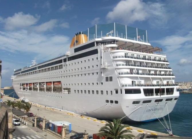 Mezza Palermo senz'acqua: serve alle navi da crociera