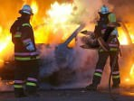auto in fiamme modica