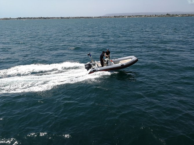 Siracusa: controlli su aree marine e balneari, pattugliati 25 chilometri di costa