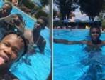 """Parroco porta i migranti in piscina e posta le foto su facebook, il web si scatena con insulti ed offese: """"Scimmie"""""""