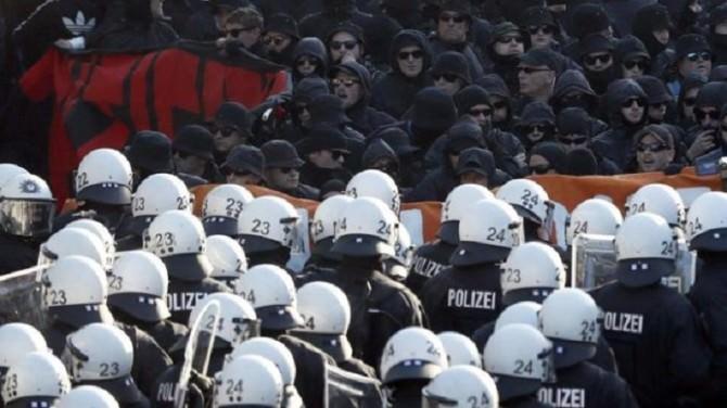 Protest against G20 Summit in Hamburg