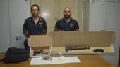 Un fucile da guerra e droga nascosti in uno zaino: indagano i carabinieri FOTO