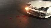 Auto contro scooter, ragazzo vola e batte sul parabrezza: ferito alla testa 17enne. FOTO